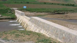 جزئیات اجرای طرح احداث سیل بند در شهید آباد آوج