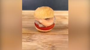 کوچکترین همبرگر دنیا