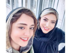 چهرهها/ سلفی دو نفره نرگس محمدی و فریبا نادری
