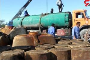 ۱۲ هزار لیتر سوخت قاچاق در چایپاره کشف شد