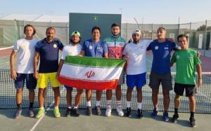 دومین پیروزی تیم ملی تنیس ایران