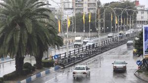 باران و کاهش قابل ملاحظه دما در مازندران