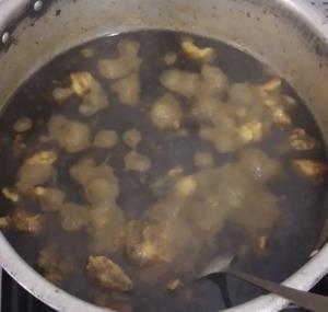 از شما/قرمہ سبزی در حال پخت
