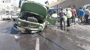 برخورد خودروها در جاده دورود_ازنا ۸ مصدوم داشت
