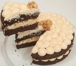 «کیک شکلاتی» پرطرفدار با روکش نسکافه ویژه آخر هفته