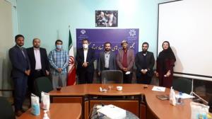 گفتوگوی رئیس مجمع جوانان استان کرمان با شهردار و اعضا شورای شهر کرمان
