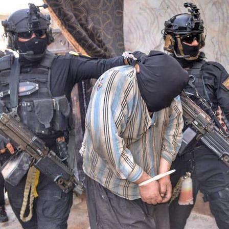 گزارشی از دستگیری خطرناکترین تروریستها در عراق