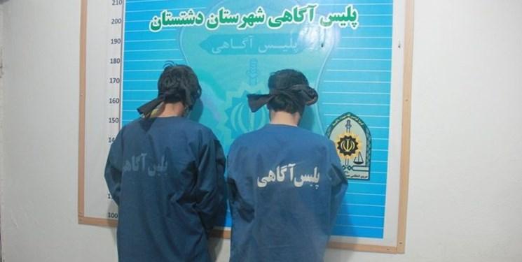 سارقان حرفهای سیم برق در دام پلیس دشتستان