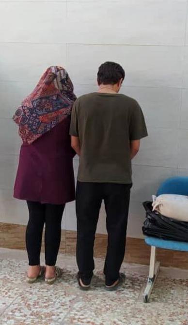 دستگیری مرد و زن طی جریان کشف تریاک در محور شیراز_گچساران