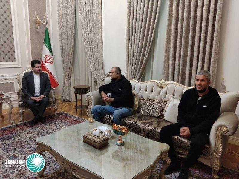 عکس/ آزادی رانندگان ایرانی بازداشت شده در جمهوری آذربایجان