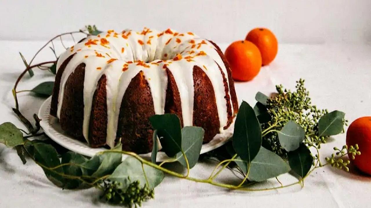 کیک نارنگی پاییزی؛ عصرانه ای خوشمزه و لذیذ