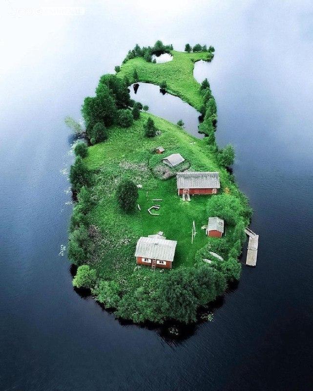 چهار فصل جزیره ای تنها در فنلاند