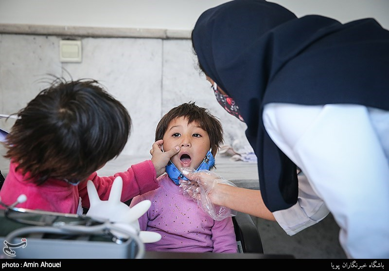 عکس/ طرح درمانی رایگان اتباع افغانستانی