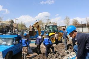 میانگین زمان رفع حوادث آب و فاضلاب در کردستان ۱۵ ساعت کاهش یافت
