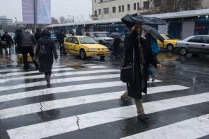 احتمال رگبار باران و رعد و برق در پایتخت