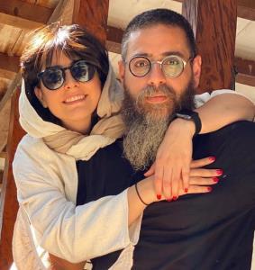 چهرهها/ عکس عاشقانه شبنم قربانی و همسرش