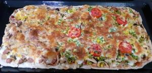 از شما/پیتزا خانواده ما😊