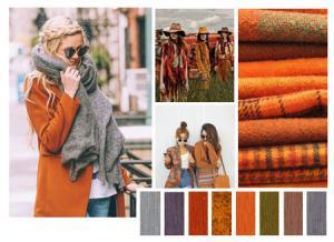 روانشناسی رنگ های مناسب برای لباس های پاییزی