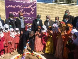 کلنگ جمعآوری مدارس کانکسی در کهگیلویه و بویراحمد به زمین زده شد