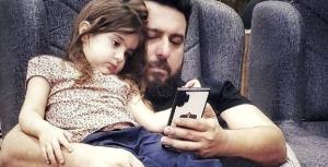 شیرین زیانی دختر محسن کیایی در غیاب پدرش