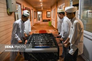 عکس/ مسجد و مدرسه ای برای فراگیری علوم دینی در گنبد کاووس