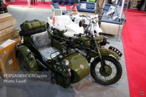 گزارش تصویری از موتورسیکلتهای ارتش نازی در تهران