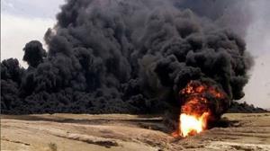 فرسودگی، علت انفجار خط لوله شرکت نفت در نزدیکی روستای رمیص