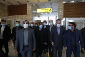 وزیر میراث فرهنگی وارد اردبیل شد