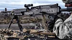 آتش گرفتن اسلحه پس از رگبار ۷۰۰ گلوله!