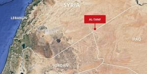 حمله پهپادی به پایگاه نظامی آمریکا در سوریه