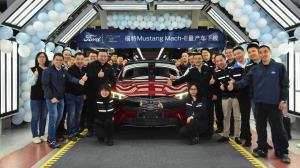 آغاز تولید فورد موستانگ مک-ای در چین