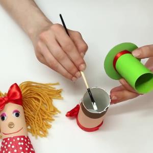 کاردستی کودکانه سرگرمی روز تعطیل بچه ها