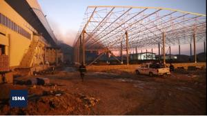 وضعیت کارخانه طبیعت یک روز پس از آتشسوزی