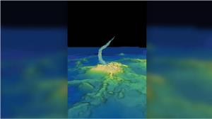 بزرگترین آتشفشان در زیر آب کشف شد