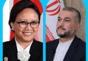 گفتگوی وزرای خارجه ایران و اندونزی؛ تاکید بر اهمیت تشکیل دولت فراگیر در افغانستان
