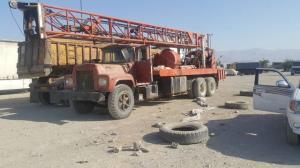 یک دستگاه حفاری در نظرآباد توقیف شد