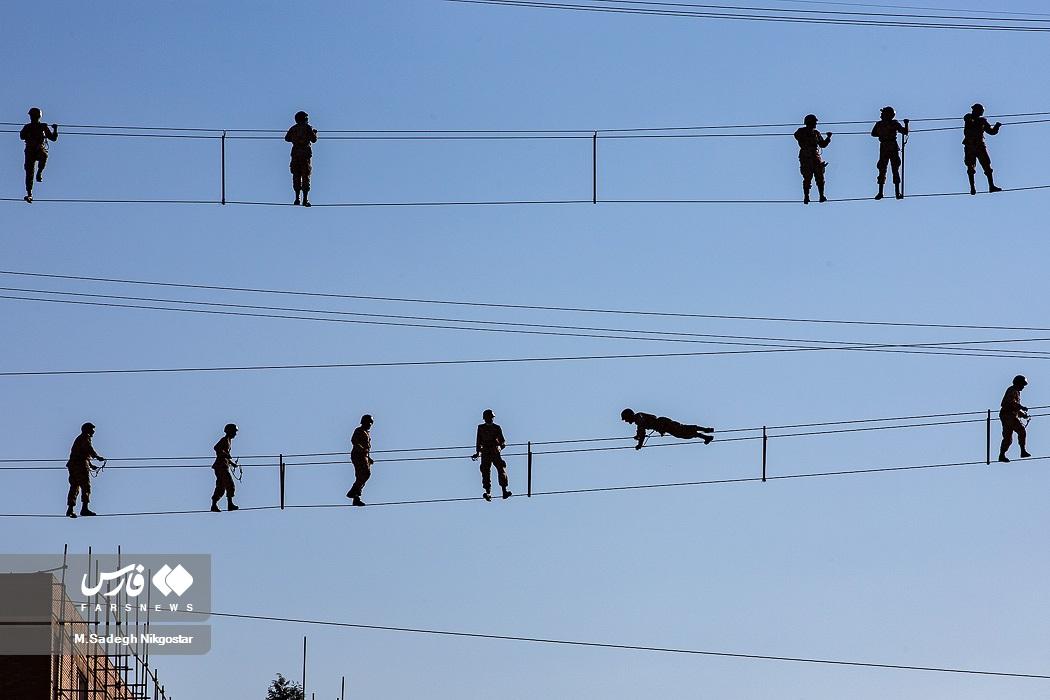 عکس/ صبحگاه ورزشی در دانشگاههای نیروهای مسلح