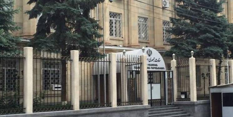 سفارت ایران در ارمنستان پاسخ اتهام بی اساس علیاف علیه ایران را داد