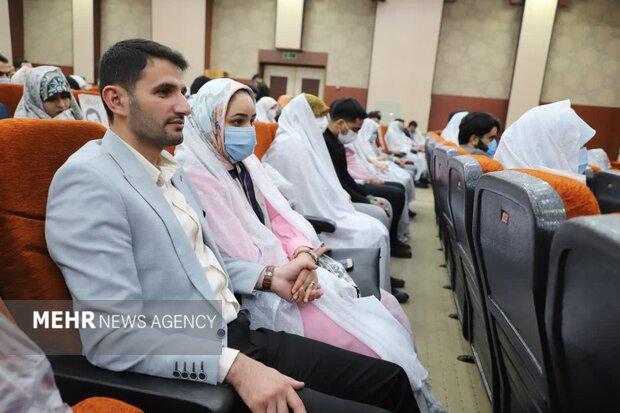 جشن عقد و ازدواج آسان ۱۱۰ زوج در مازندران برگزار شد