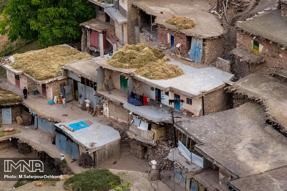 معماری جذاب روستای سرآقاسید