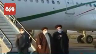 رئیسجمهور وارد استان اردبیل شد