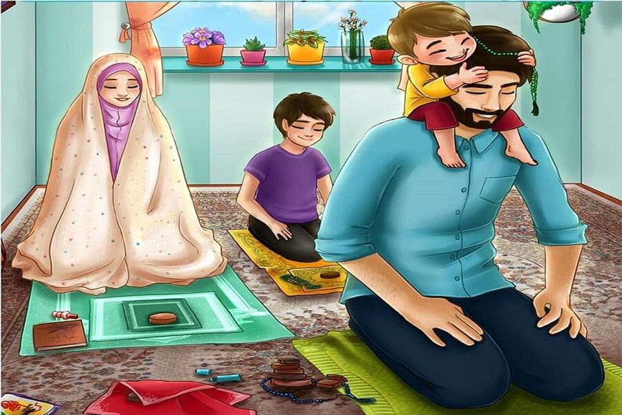 علاقه مند کردن بچه ها به نماز