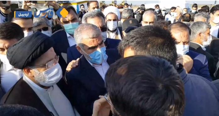 درددل مردم با رئیسجمهور در حاشیه سفر به مغان