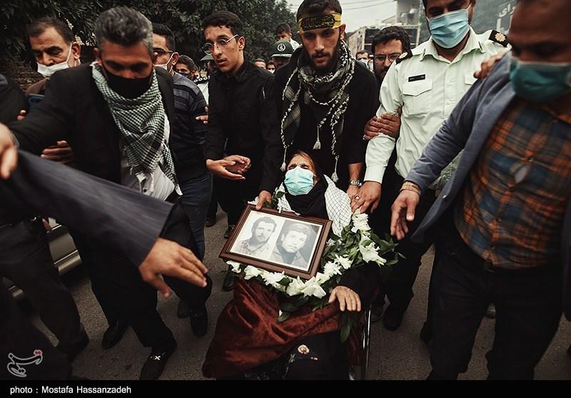 عکس/ پایان فراق 38 ساله مادر شهید