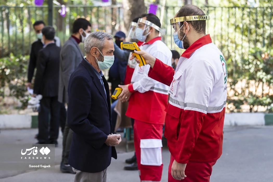 عکس/ اولین نماز جمعه تهران بعد از شیوع کرونا