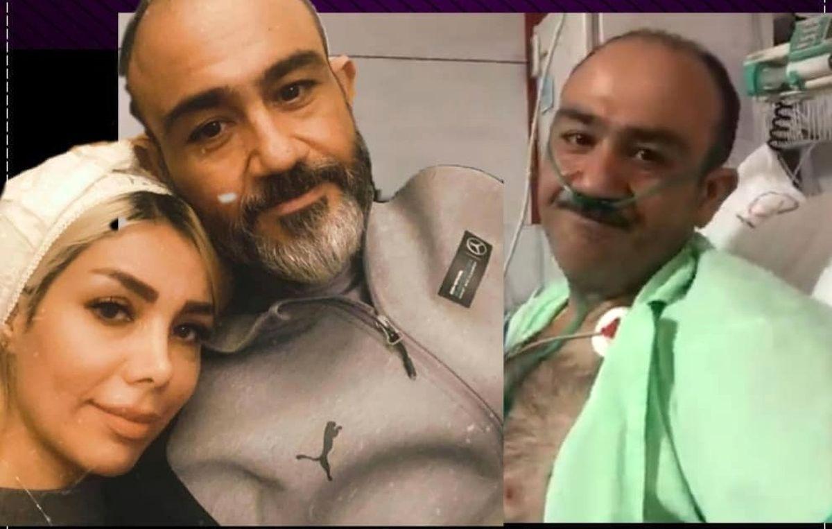 اشک شوق مهران غفوریان بعد از عمل