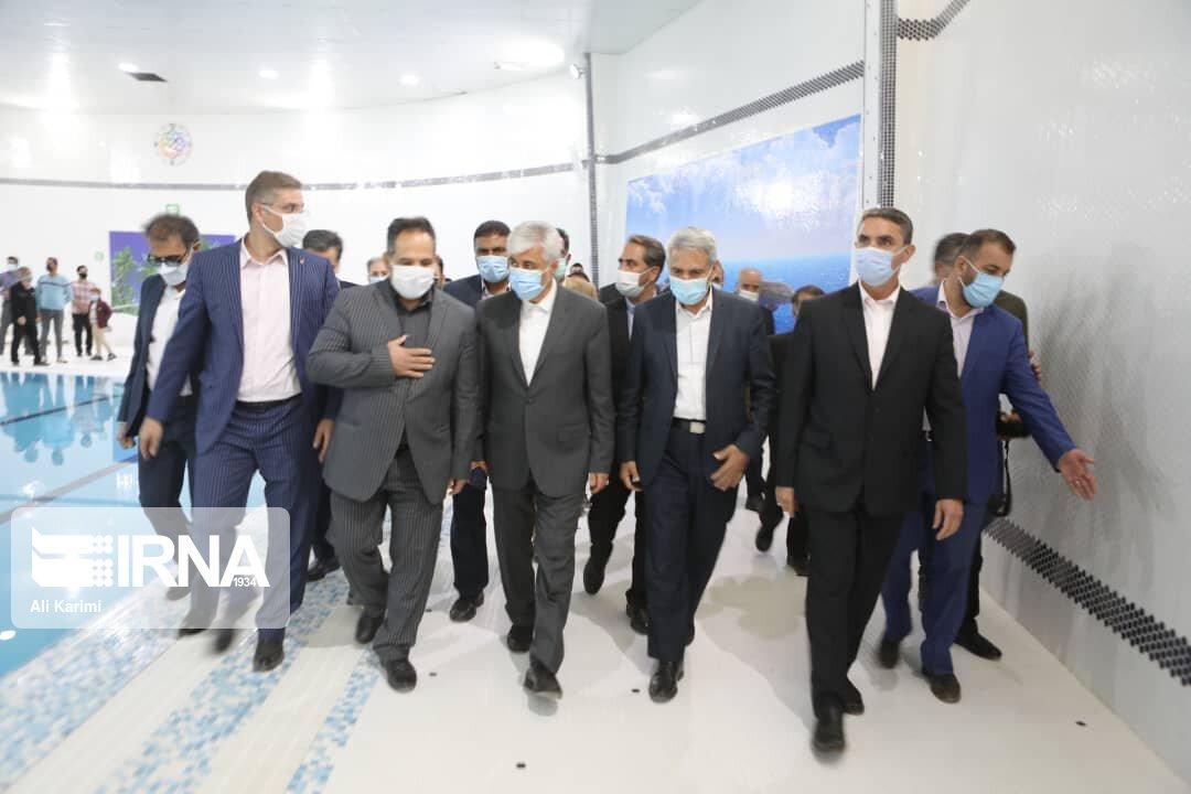 افتتاح مجموعه ورزشی خورشید با حضور وزیر ورزش و جوانان در خمین