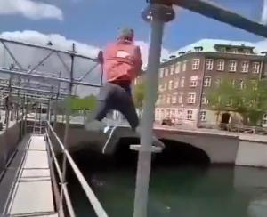 مهارت دیدنی در ورزشی خطرناک