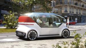 کانسپت فولکس واگن وانپاد رونمایی شد؛ برداشتی از یک خودروی اشتراکی پیشرفته در آینده