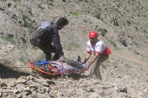 نجات هشت کوهنورد مفقود شده در ارتفاعات دشت لار